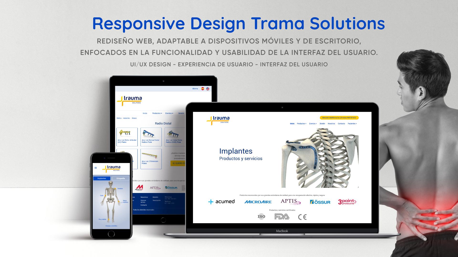Responsive design - Trauma Solutions