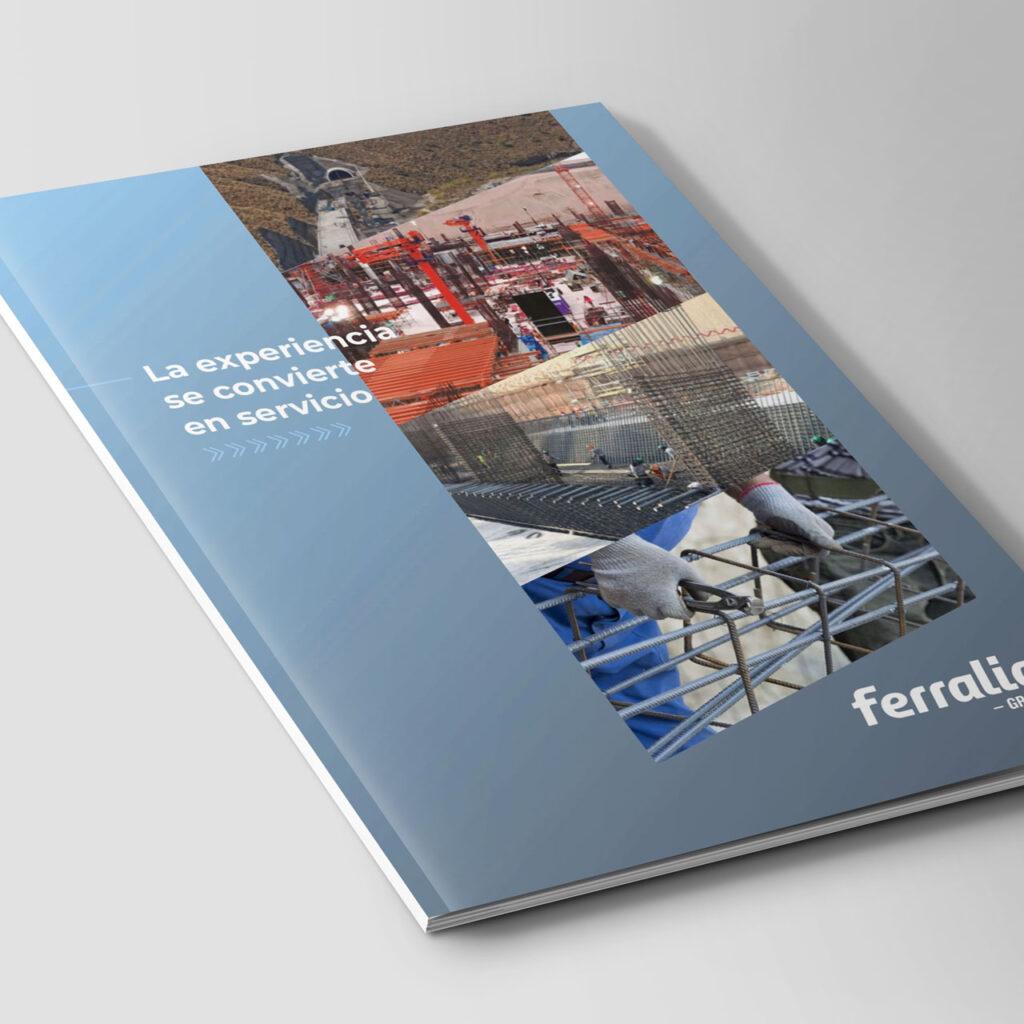 Diseño de brochure - Portada