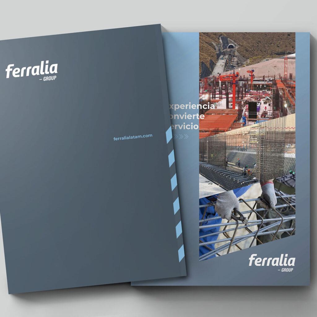 Diseño de brochure (Contraportada y portada)