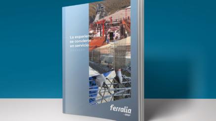 Diseño de brochure Ferralia