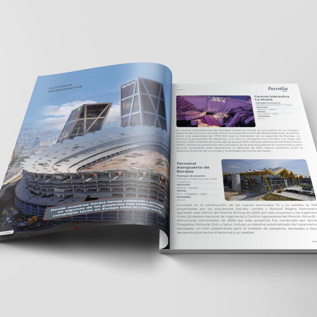 Diseño de brochure - Fotomontaje